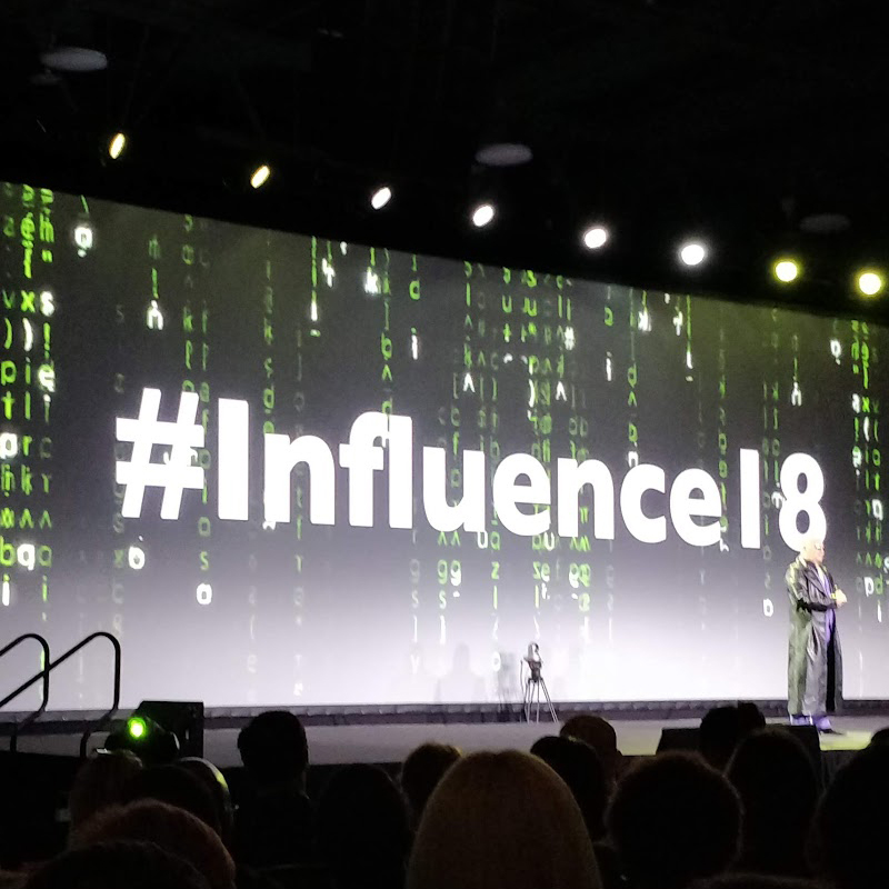 Reflecting moment after #influence18